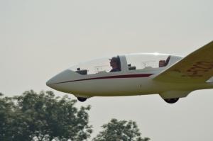 TWIN III im Landeanflug