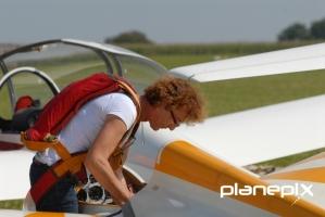 Vorbereitungen zum Kunstflug