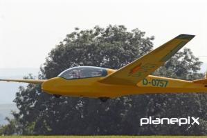 ASK13 Landung