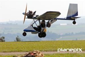 Exotisches Fluggerät ist auch dabei