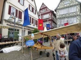 SG 38 auf dem Vaihinger Marktplatz